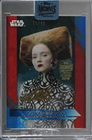 Lily Luahana Cole as Lovey (2017 Topps The Last Jedi Blue) [Buy Back] #/65