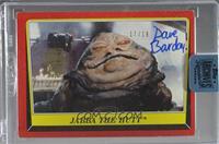 Dave Barclay (Jabba the Hutt) /18 [BuyBack]