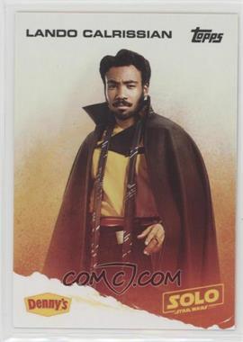 2018 Topps Denny's Solo: A Star Wars Story - [Base] #LACA - Lando Calrissian