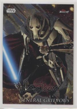 2018 Topps Finest Star Wars - [Base] #37 - General Grievous