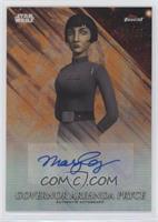 Mary Elizabeth McGlynn as Governor Arihnda Pryce #/25