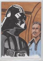 Nathan Kennett (Darth Vader, Lando Calrissian) #/1