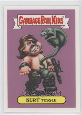 2018 Topps Garbage Pail Kids Oh, the Horror-ible - '80s Sci-Fi Sticker #7b - Kurt Tussle