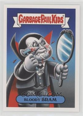 2018 Topps Garbage Pail Kids Oh, the Horror-ible - Classic Film Monster Sticker #4b - Bloody Bram