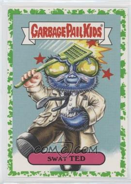 2018 Topps Garbage Pail Kids Oh, the Horror-ible - Retro Sci-Fi Sticker - Phlegm #7a - Swat Ted
