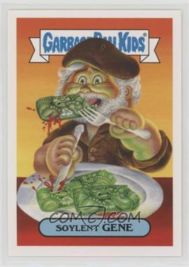 2018 Topps Garbage Pail Kids Oh, the Horror-ible - Retro Sci-Fi Sticker #9a - Soylent Gene
