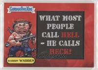Warrin' Warren /50