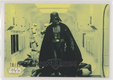 2018 Topps Star Wars Black and White - [Base] - Green #3 - Darth Vader's Arrival /99