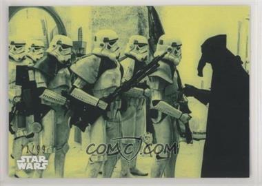 2018 Topps Star Wars Black and White - [Base] - Green #56 - The Empire's Informant /99