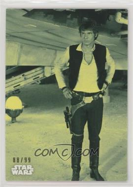 2018 Topps Star Wars Black and White - [Base] - Green #58 - The Passengers Arrive /99