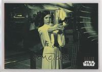Princess Leia Takes Aim #/99