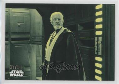2018 Topps Star Wars Black and White - [Base] - Green #95 - A Sly Escape /99