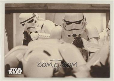 2018 Topps Star Wars Black and White - [Base] - Sepia #103 - Stormtroopers Breaking Through!