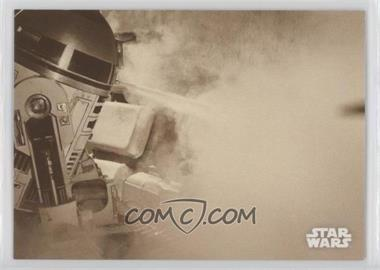 2018 Topps Star Wars Black and White - [Base] - Sepia #117 - Extinguishing the Flames