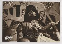 The Fearsome Darth Vader in Flight
