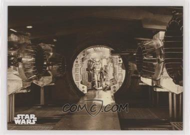 2018 Topps Star Wars Black and White - [Base] - Sepia #6 - Searching the Ship