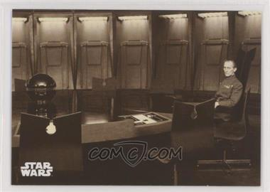 2018 Topps Star Wars Black and White - [Base] - Sepia #68 - News of the Dantooine Base