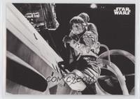 Luke Skywalker Climbs in