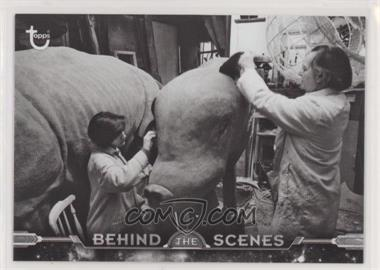 2018 Topps Star Wars Black and White - Behind the Scenes #BTS-31 - Creature Construction