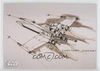 X-Wing (Attack Position)