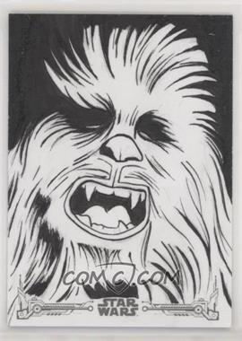 2018 Topps Star Wars Black and White - Sketch Cards #FRKA - Frank Kadar /1