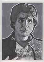 Lloyd Mills (Harrison Ford as Han Solo) #/1