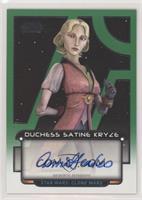 Anna Graves as Duchess Satine Kryze #/50