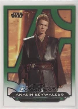 2018 Topps Star Wars Galactic Files Reborn - [Base] - Green #AOTC-21 - Anakin Skywalker /199