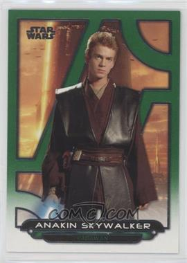 2018 Topps Star Wars Galactic Files Reborn - [Base] - Green #AOTC-21 - Anakin Skywalker /199