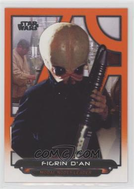 2018 Topps Star Wars Galactic Files Reborn - [Base] - Orange #ANH-36 - Figrin D'An