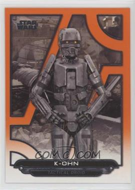 2018 Topps Star Wars Galactic Files Reborn - [Base] - Orange #RO-51 - K-OHN