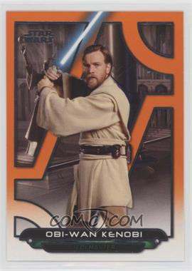 2018 Topps Star Wars Galactic Files Reborn - [Base] - Orange #ROTS-21 - Obi-Wan Kenobi