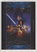Star Wars: Return of the Jedi - Leia Organa #/99