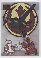 Poe Dameron and BB-8 #/25
