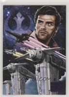 Commander Poe Dameron #/99