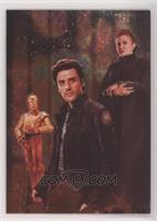 Poe Dameron, C-3PO, Leia Organa