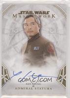 Ken Leung as Admiral Statura #/25