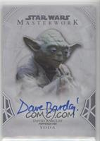 David Barclay as Yoda /50