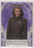 Commander D'Acy #/50