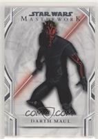 Short Print - Darth Maul