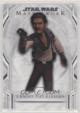2018 Topps Star Wars Masterwork - [Base] #113 - Short Print - Lando Calrissian