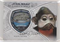 The Millennium Falcon - Nien Nunb #/175