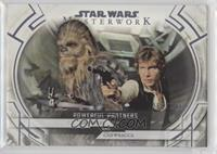 Han Solo and Chewbacca #/299