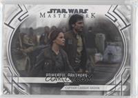 Jyn Erso and Captain Cassian Andor