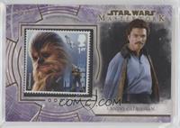 Chewbacca! (Lando Calrissian) #/50
