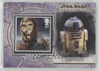 C-3PO and Jabba The Hutt's Palace (R2-D2) #/50