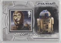 C-3PO and Jabba The Hutt's Palace (R2-D2) #/200