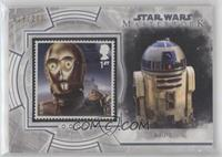 C-3PO and Jabba The Hutt's Palace (R2-D2) /200