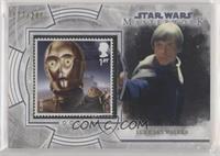 C-3PO and Jabba the Hutt's Palace (Luke Skywalker) #/200