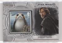 Ahch-To Island Porgs! (Luke Skywalker) #/200